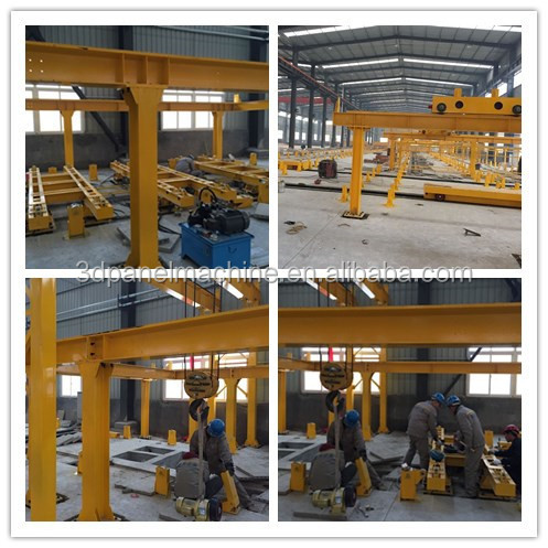 Hot sell ! XL-PC9000 precast concete steel pallet / steel table/tilting table