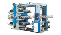 China Supplier J-YT Series Six-color Flexo Type Plastic Film/Paper Printing Machine