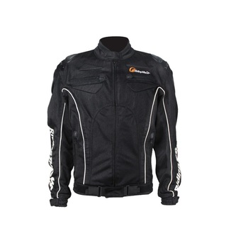 Black Protective Softshell Cool Riding Motorbike Motorcycle Man Jacket
