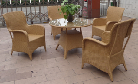 Barefoot Friendly heb stackable Patio Woven Furniture