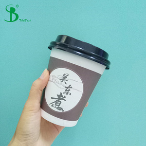 china single double ripple wall double pe logo color packaging custom high quality import low price 14oz paper cups