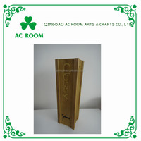 wine gift set wooden wine packing box