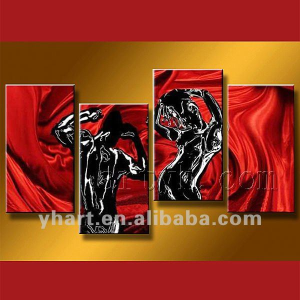 Hot Sell Handmade Sexy Nude Body Oil Painting