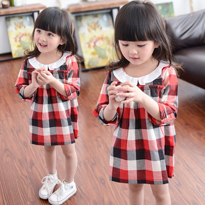 Fashion Style Children Clothes Latest Baby Girls Frill Dresses For Wholesale China
