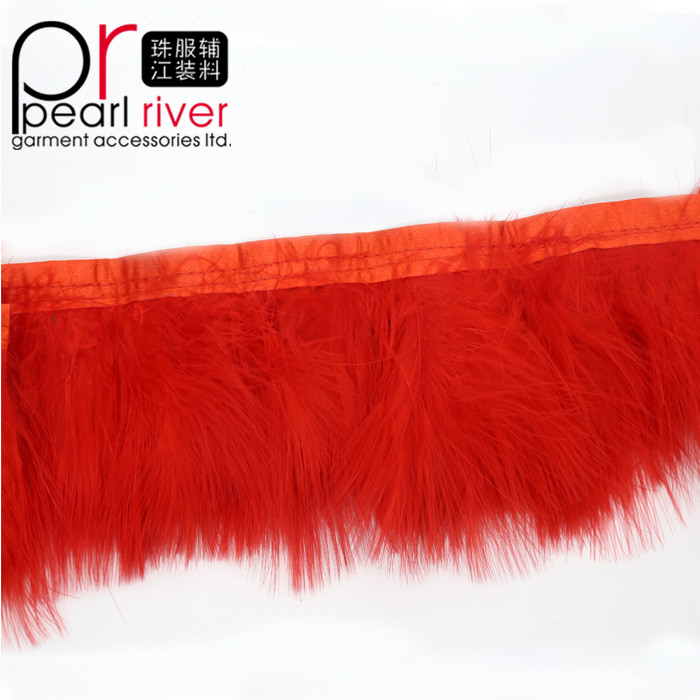 10-15cm Ostrich Feather Trimmings for Garment