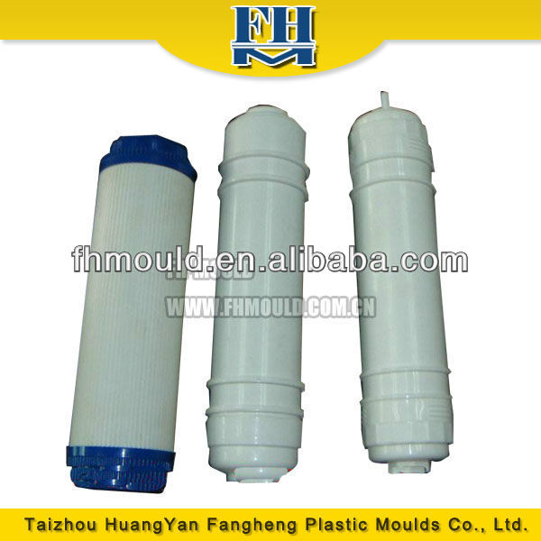 White Color Clean Water Filter Plastic Injection Mould