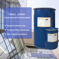 double components Silicone Sealant Applicable to structural glass