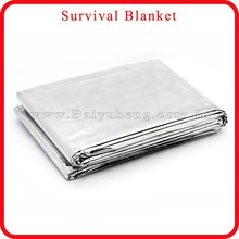 aluminum foil insulation blanket for camping & hiking