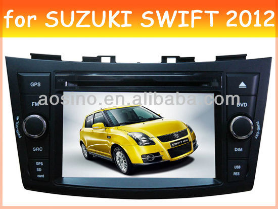car audio radio car dvd gps player for SUZUKI SWIFT 2012 with bluetooth gps navigation