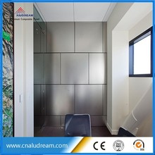 bathroom wall cladding aluminum composite panel