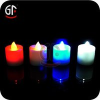 Colorful Blinking Led Candle Light For Christmas