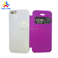 3D Sublimation window leather mobile phone case for iP5