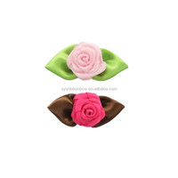 satin ribbon flowers bows rosettes
