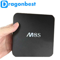 top seling xbmc quad core 4k player tv box m8s android 4.4 tv box dual band wifi google tv box