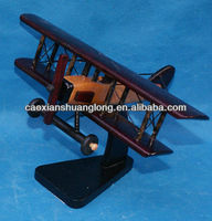 new hot sale exquisite handmade wooden model airplane for children toy
