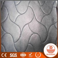custom color veins fabric pu backing sofa leather cover material black 2016 1.8mm