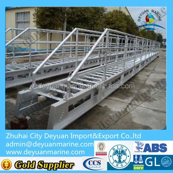 8000-15000mm Marine Aluminium gangway/accommodation ladder