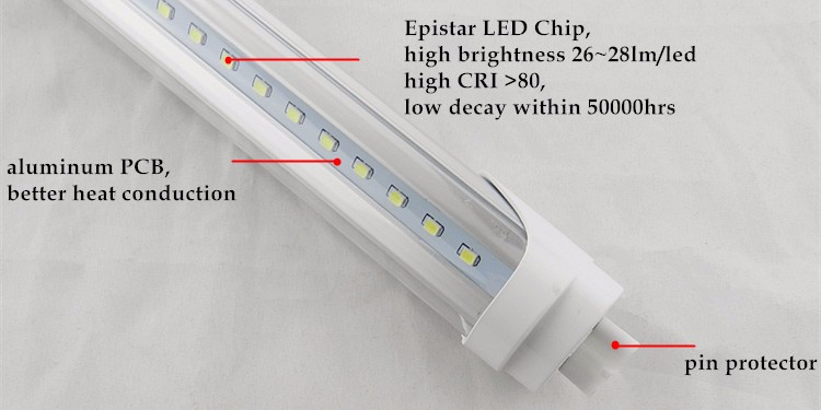 Ephan CE&RoHS best price 5ft 1500mm 30W led tube