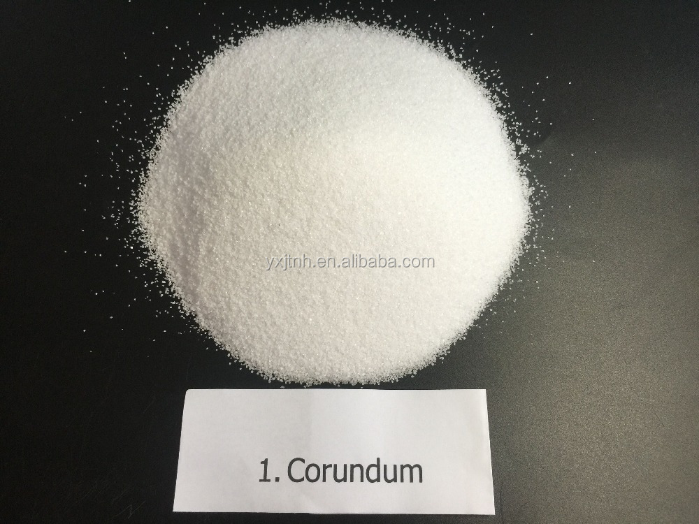 high quality hot sale Abrasive grit brown corundum/fused alumina for blasting mineral nailpolish powder