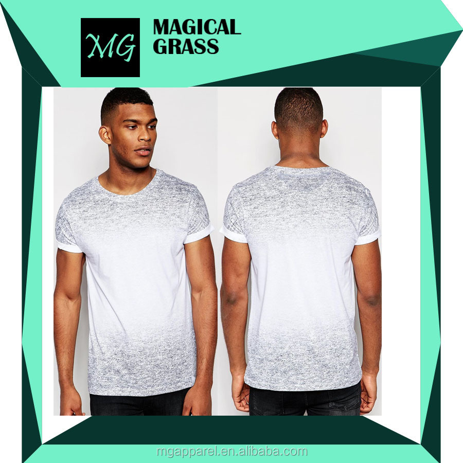 Latest t shirt designs for men crew neck jersey printed men's t shirt