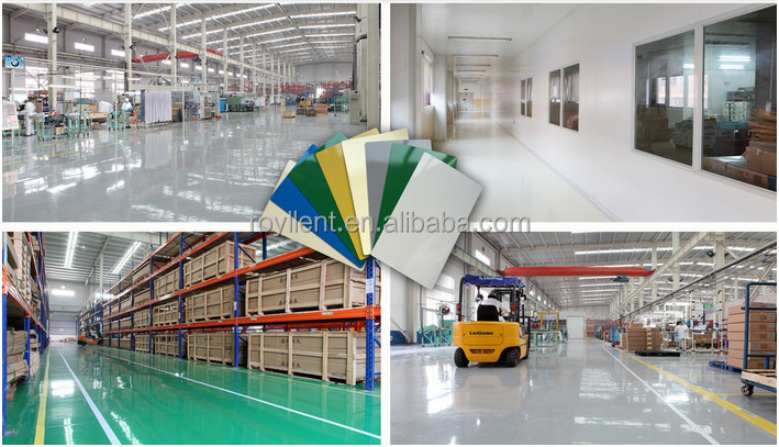 Super Durability Dance Homogeneous Recycled epoxy Flooring