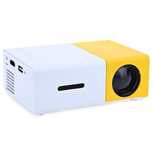 High Brightness Portable LED Projector Pocket Mini Projector Mobile Home Cinema for DVD Player Laptop with HDMI