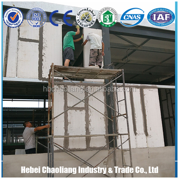 Prefabricated chicken wall panels concrete wall panels