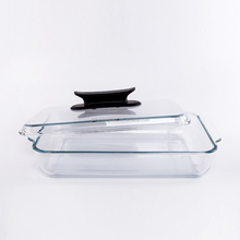 Bareware trays Rectangular pyrex glass baking dish tray/glass casserole dish/pyrex bowl with glass lid