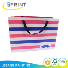 China supplier custom logo printing shopping bag with cheap price