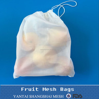 Polyester or PET mesh bag for fruit and vegetable packing