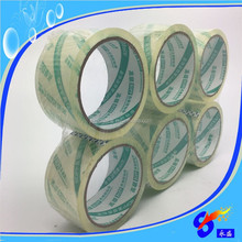 Brand name crystal tape super clear bopp packaging shipping tape