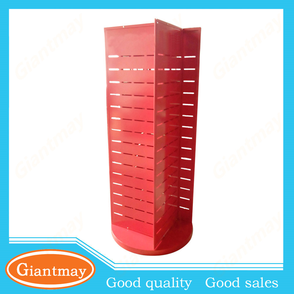 retail store rotating metal display stand for phone cases