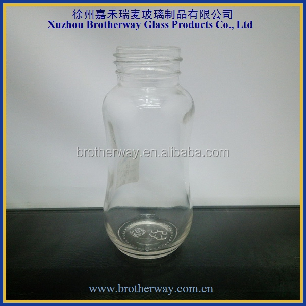 300ml empty glass baby milk bottles wholesale