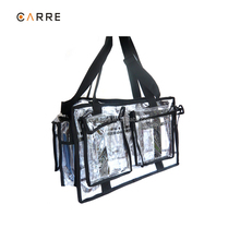professional Make up Kit Beauty Transparent Large PVC Clear Carry All Makeup Artist Set Bag