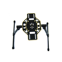 Carbon Fiber Aluminum Tall Landing Skid Gear for DJI F450 F550 DIY RC Quadcopter