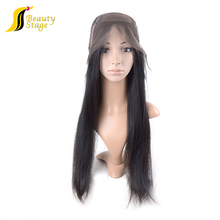 Natural black hair double drawn human hair dreadlock wig, cheap wigs synthetic hair lace front