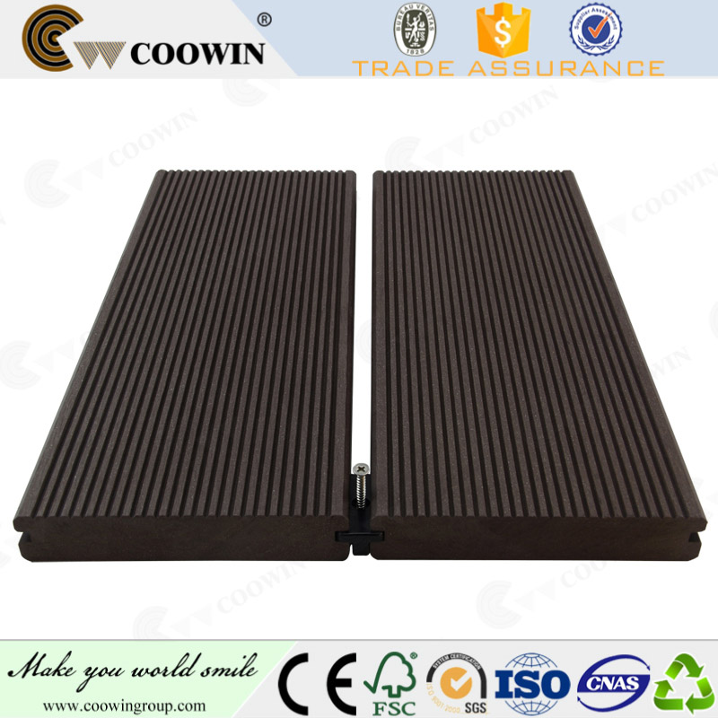 Types of wood plastic composite upvc decking boards prices