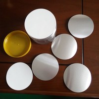 Aluminum foil induction cap seal liner for supplement and vitamin bottles