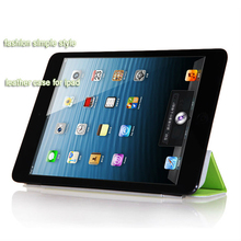PU Leather Case Smart Cover Stand For The New iPad4