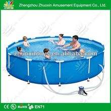 PVC cheap giant galvanized steel swimming pool