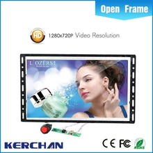 Digital open frame wall frame mount tablet
