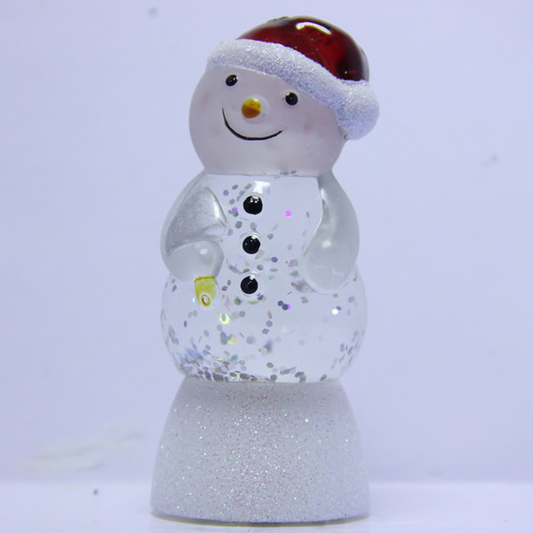Battery Lighted Mini Snowman Snow Globe Project, Snowman Snow Globe Sale