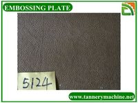 special leather embossing plate mould for cow leather processing