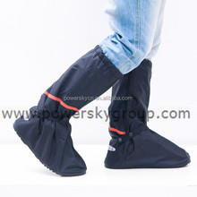 Convenient hight heel PVC antiskid lightweight fashional overshoe
