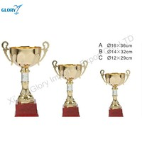 New Golden Metal Cups And Trophies