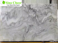 Chinese Supplier cheap natural cloudy grey marble flooring design & marble floor tile designs & grey marble stone