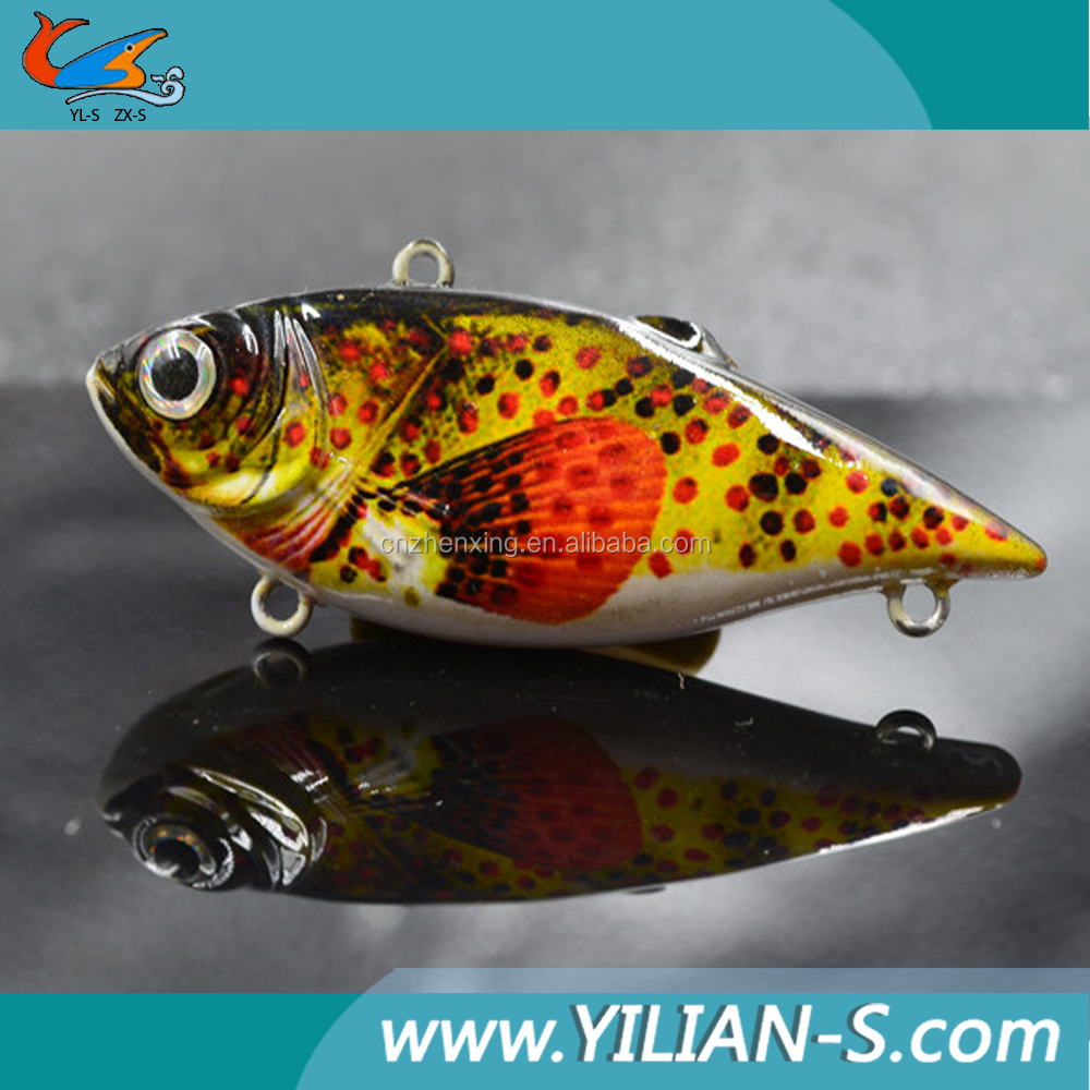 2016 new design 2.5 inch 8g vib best fish lures, swim bait vib molds, topwater vib lure