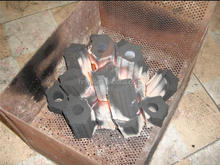 Hardwood Charcoals For Smoke Free Charcoal BBQ Grill