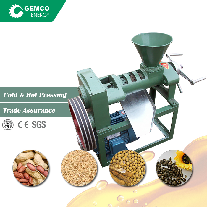 Wholesale price small automatic screw cold press black seed soybean corn coconut mustard groundnut oil machine