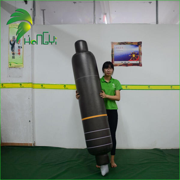 OEM Factory 2M Display Inflatable Pen Balloon / Promotional PVC Pens Pencils Model For Display